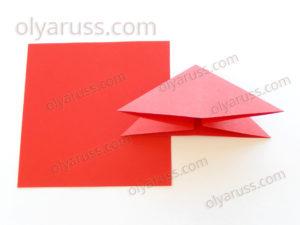 Двойной Треугольник | Базовая форма оригами