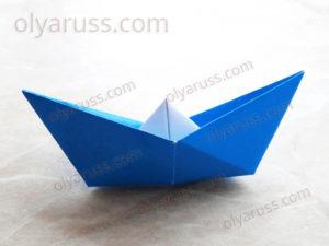 Кораблик оригами | Как сделать Бумажный Кораблик
