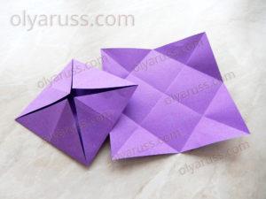 Блинчик | Базовая форма оригами