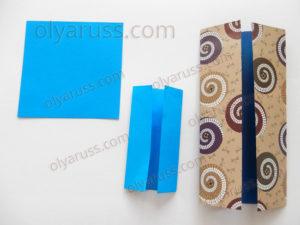 Дверь | Базовая форма оригами