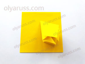 Бутон или Цветок | Базовая форма оригами