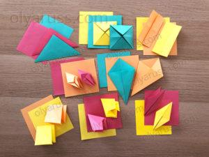 С чего начать оригами | Базовые формы оригами