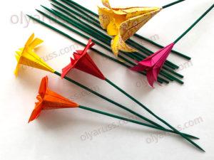 Стебель для цветов из бамбуковой палочки | Цветочный Стебель своими руками
