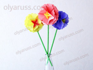 Цветы из бумаги | Как сделать Цветок своими руками