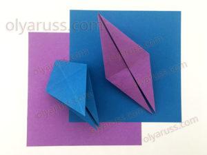 Птица | Базовая форма оригами
