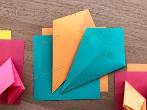 Воздушный Змей | Базовая форма оригами